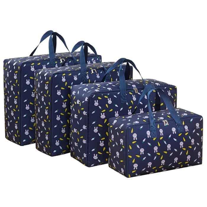 image contains a set of bags