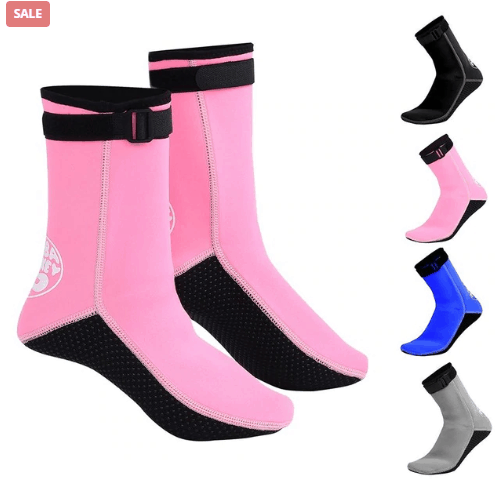 Neoprene Socks And Shoes For Water Sports