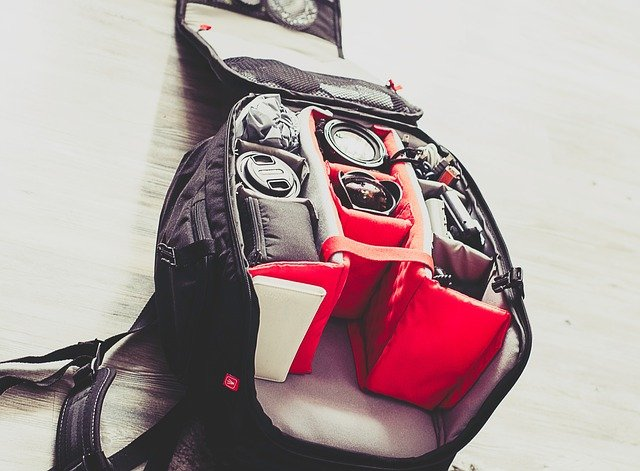 A bag of luggage